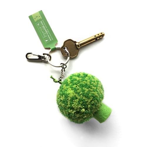 花椰菜鑰匙圈-雙色綠