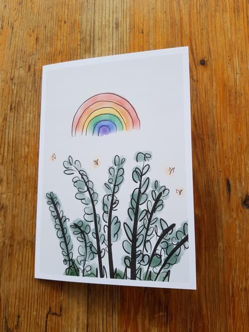 Rainbows and foliage
