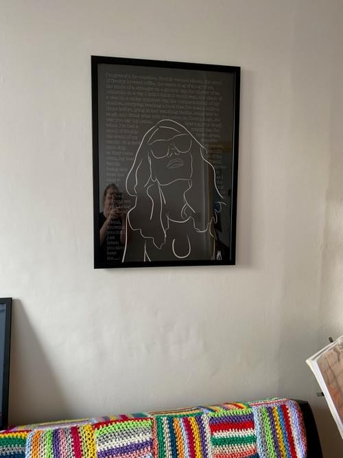 Gratitude print (70 x 50cm)