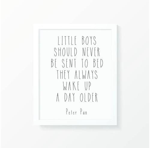 Little Boys Print