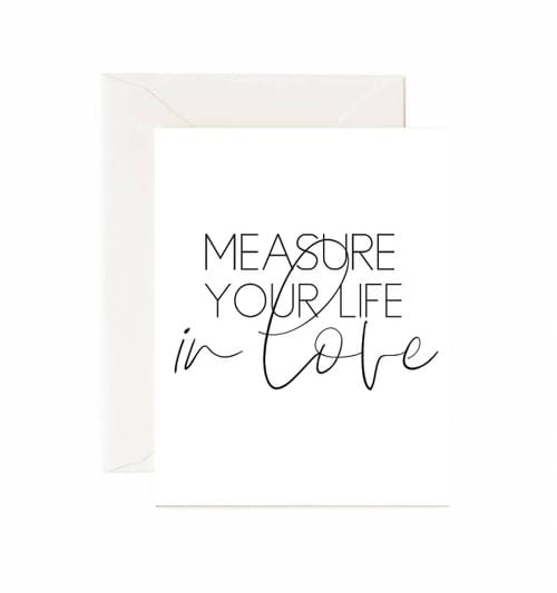 Measure your Life Card