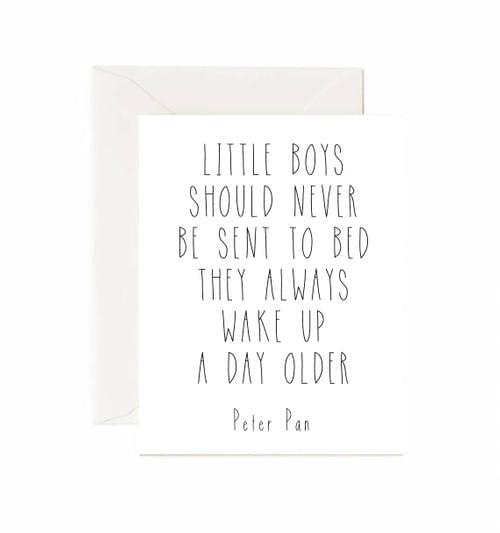 Little Boys Card