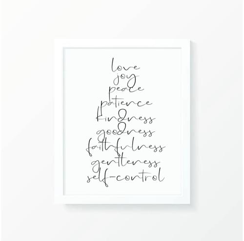 Fruit of the Spirit Print