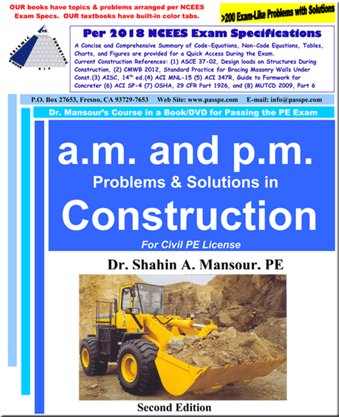 A.M and P.M Problems and Solutions in Construction 2nd Edition