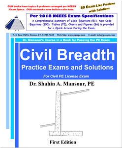 Civil Breadth Practice Exams and Solutions 1st Edition