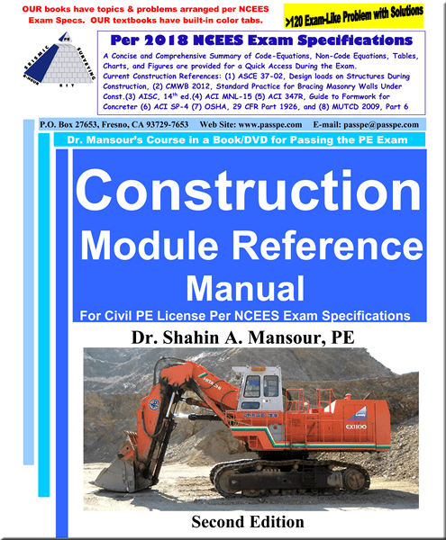 Construction Module Reference Manual 2nd Edition