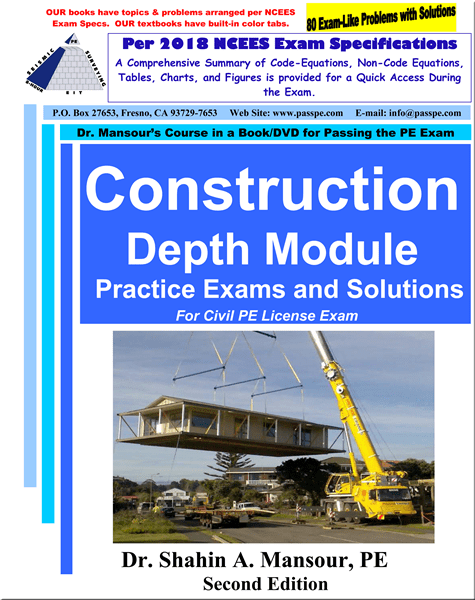 Construction Depth Practice Exams and Solutions