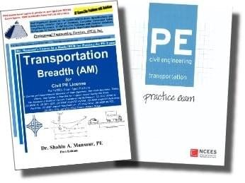 Transportation (Breadth) AM Book & NCEES Package