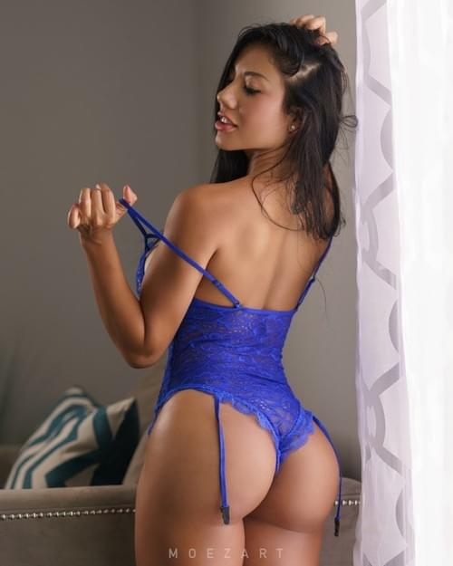 Signed Poster - Blue Lingerie