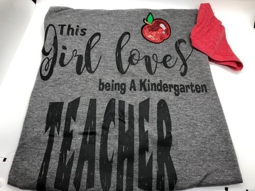 This girl Loves being a Kindergarten Techer