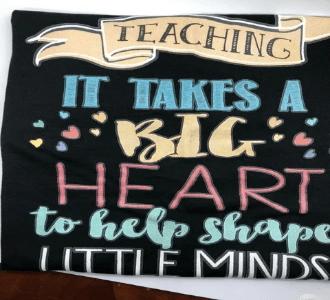 Teaching takes a Big Heart
