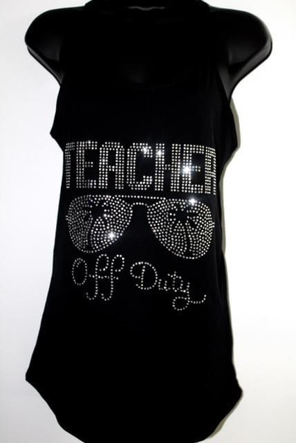 Teacher Off Duty Tank Top