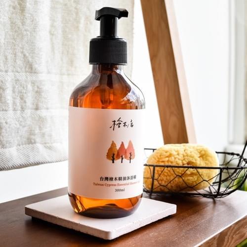 100% 台灣檜木精油沐浴精  芬多精  無香精