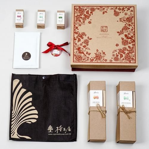 Goody Bag - 台灣檜木香氛禮盒 100%純精油 通過SGS無毒檢驗 必買