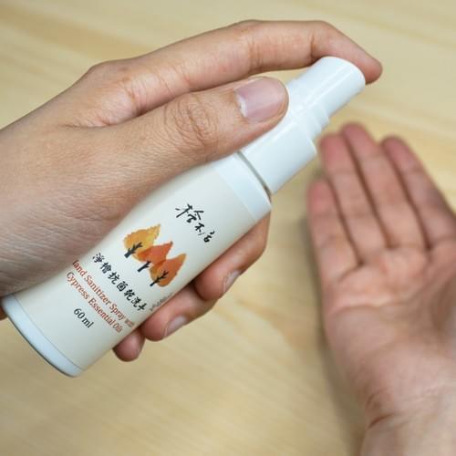 淨檜抗菌乾洗手 75%酒精 天然檜木精油 3入組