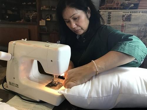 檜木居 純手工縫製而成 台灣檜木 舒壓枕 每日按摩 檜木枕 香氣紓壓