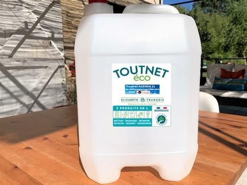 Nettoyant concentré TOUTNET ECO 20 litres de concentré