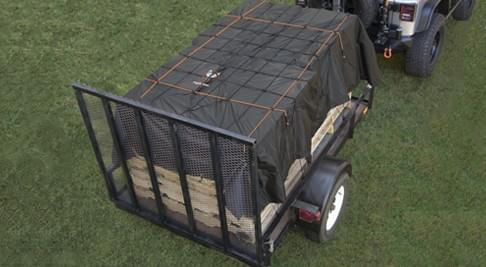 Cargo Net with Built in Cover