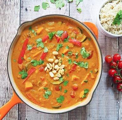 KindaEthopian peanut curry Ve, GF, V