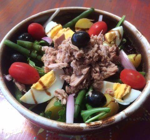 KINDA Tuna Nicoise Salad