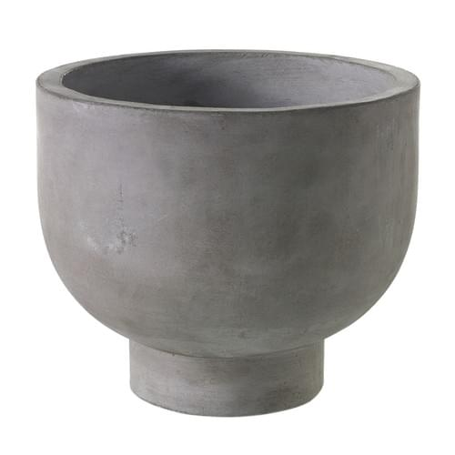 CONCRETE PEDESTAL POT