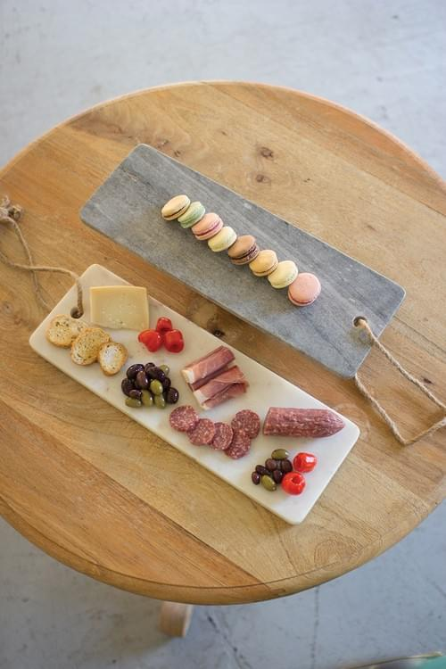 MARBLE CHARCUTERIE PLATTER
