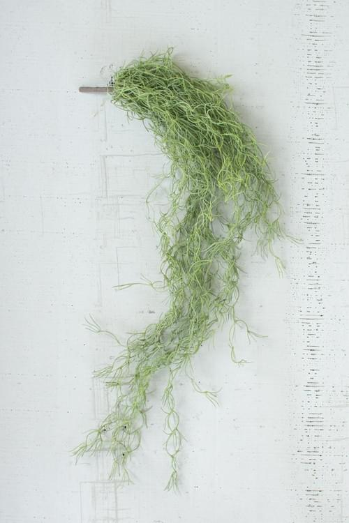 PACK OF 6 HANGING FAUX MOSS