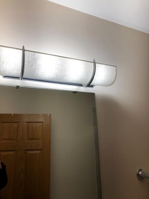 """36"""" Length for six Bulb Light"""