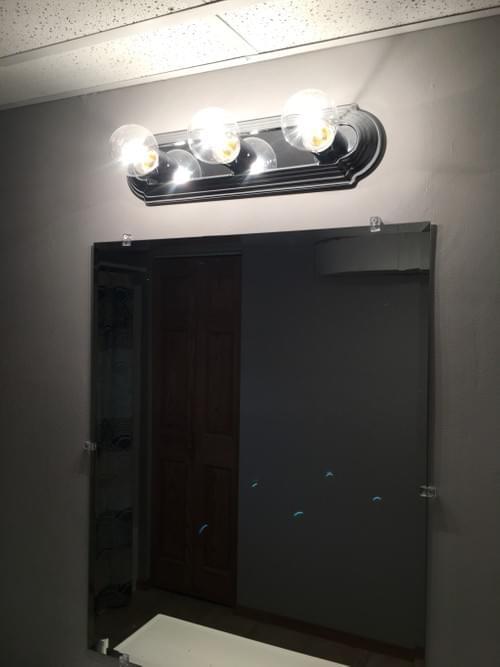 """26"""" Length for 4 Bulb Light"""