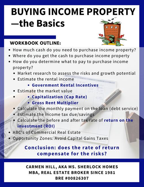 Buying Income Property—the Basics