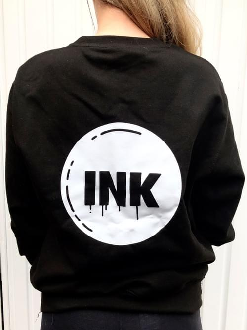 INK Stamp Black Sweater