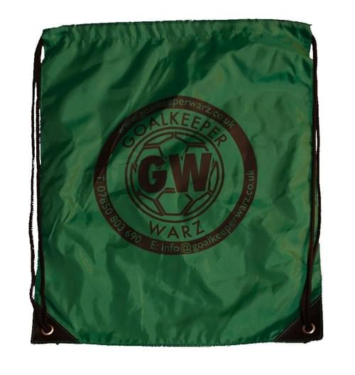 Boot Bag (Green) With Logo