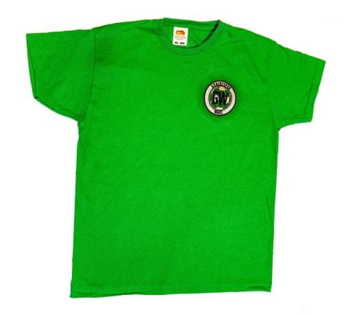 T-Shirt (Green) With Logo (Junior)