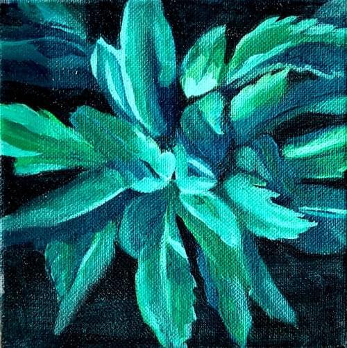Mini Plant Painting #3