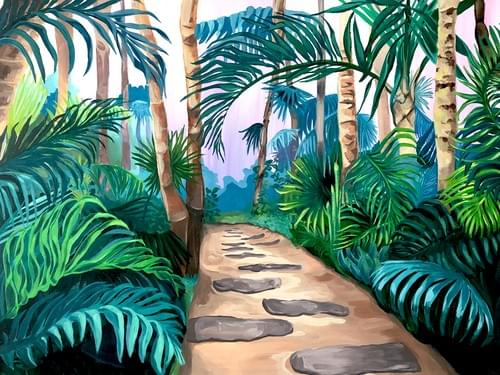 Stay in The Jungle Painting