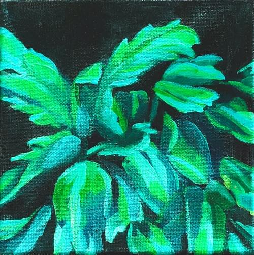 Mini Plant Painting #2
