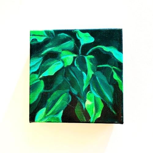 Mini Plant Painting # 8