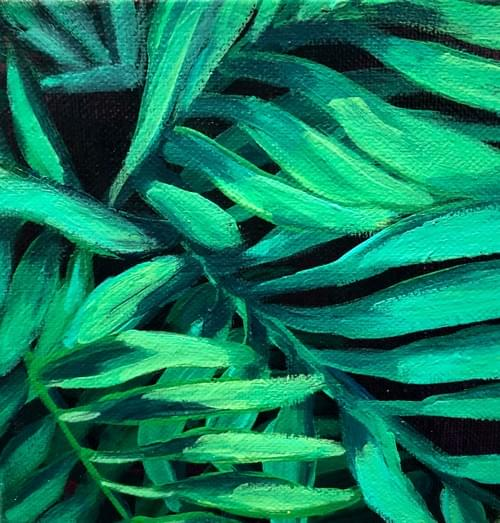 Mini Plant Painting #7
