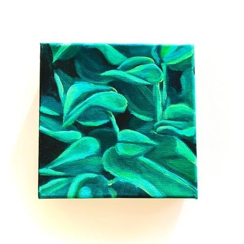 Mini Plant Painting #4