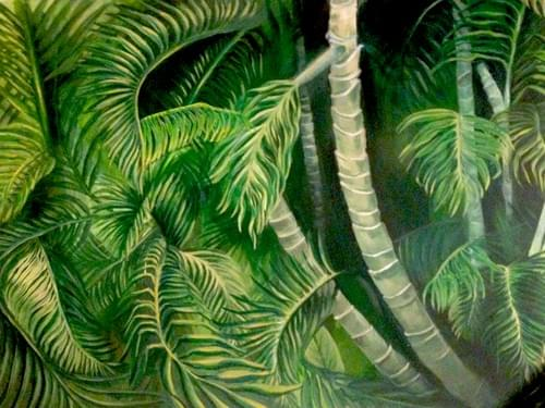 Jamaican Jungle Painting