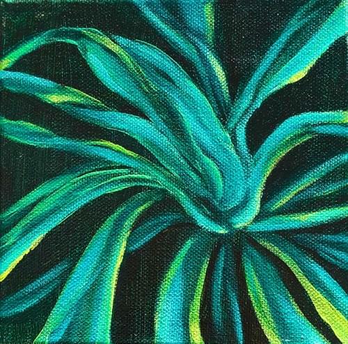 Mini Plant painting #9