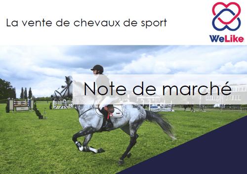 La vente de chevaux de sport (4 pages)