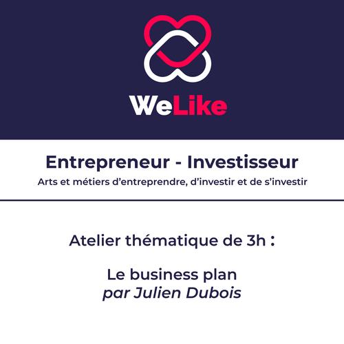 Formation Entrepreneur - Investisseur : le business plan