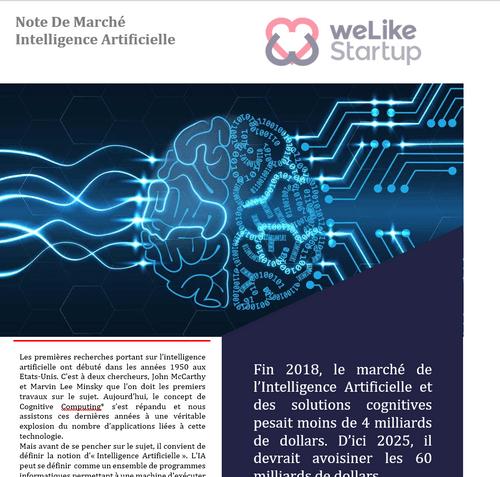 Intelligence Artificielle - Note de Marché (8 pages)