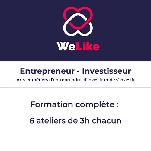 Formation Entrepreneur - Investisseur : les 6 modules