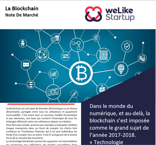 Blockchain - Note de marché                           (8 pages)