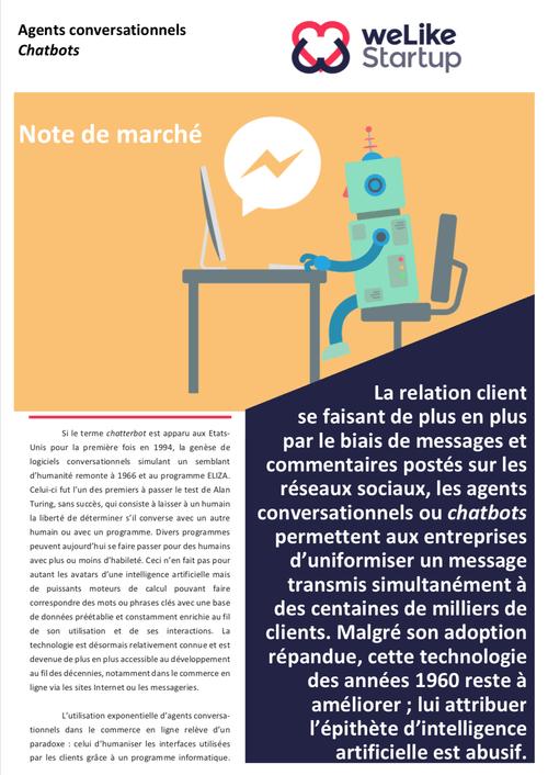 Chatbots - Note de marché WLS                   (4 pages)