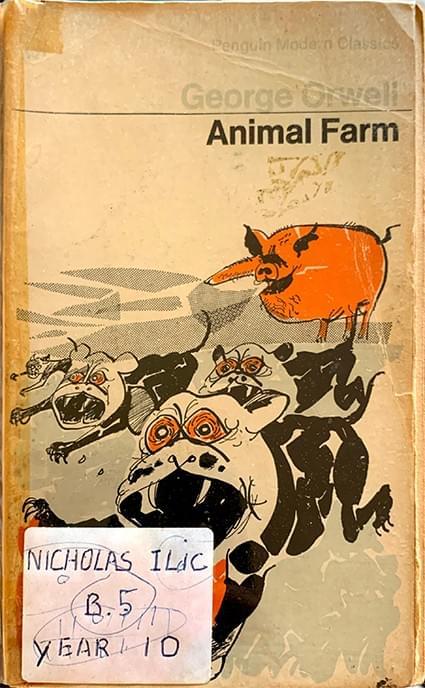 Animal Farm - A Fairy Story – Orwell, George