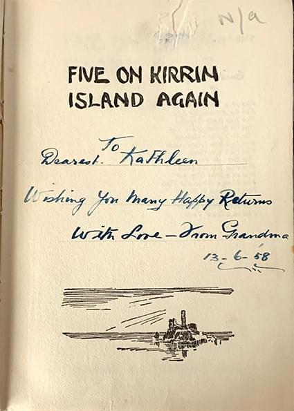 Five on Kirin Island Again - Enid Blyton
