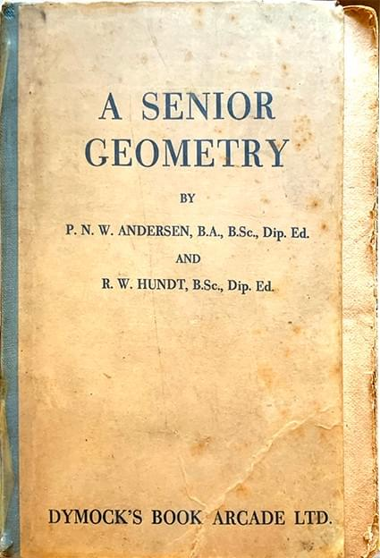 A Senior Geometry – Andersen, P. N. W. and Hundt, R. W.